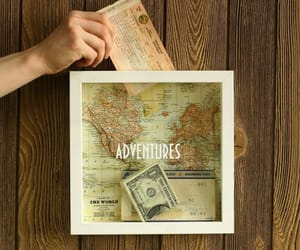 adventures, travel, and map image