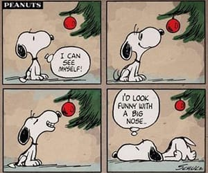snoopy, christmas, and funny image
