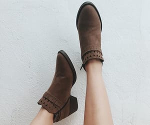 boots, brown boots, and shoes image