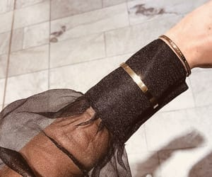 aesthetic, black, and bracelet image