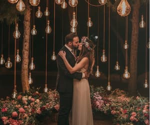 fairytale, couple, and kissing image