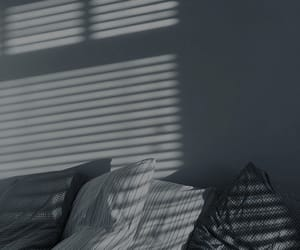 aesthetic, grey, and pillows image