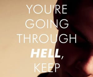 teen wolf, quotes, and hell image