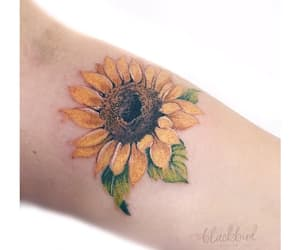 body art, floral, and flower image
