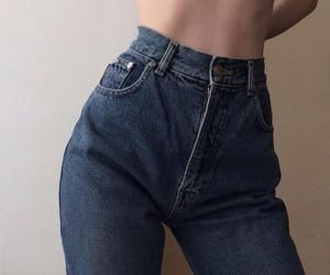 jeans, aesthetic, and beauty image