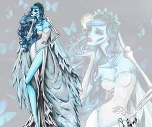art, corpse bride, and fashion image