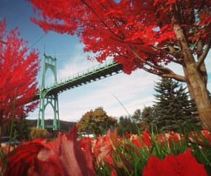 St. Johns Bridge, on a Fall Morning 🍁kc I by Zeb Andrews