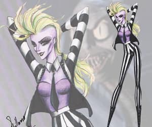art, fashion, and tim burton image