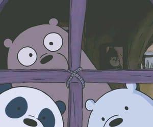 wallpaper, bears, and cartoon image