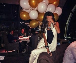 balloons, gold, and luxury image