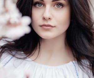 belleza, mujer, and ojos image