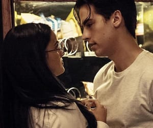 cole sprouse, riverdale, and camila mendes image
