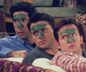 friends, joey tribbiani, and ross geller image