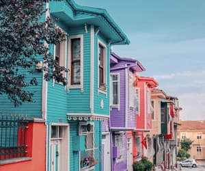 beautiful, cities, and colors image