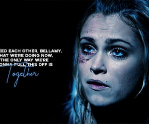 bellamy, clarke, and clarkegriffin image