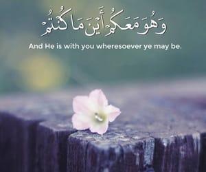 arabic, quran, and الله image