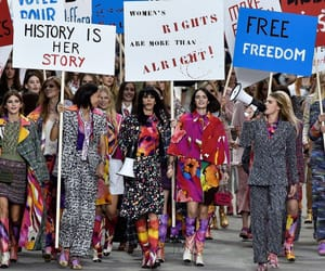 chanel, feminism, and fashion image
