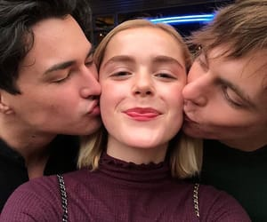 ross lynch, netflix, and kiernan shipka image