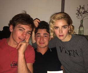 ross lynch, kiernan shipka, and gavin leatherwood image