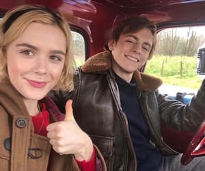 kiernan shipka, ross lynch, and sabrina spellman image