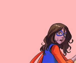 Marvel, kamala khan, and ms marvel image