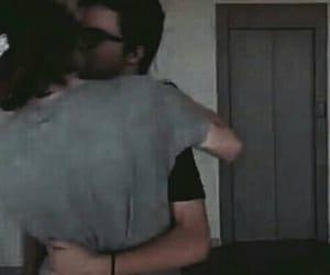 gay, hug, and rubius image