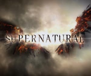spn and supernatural image