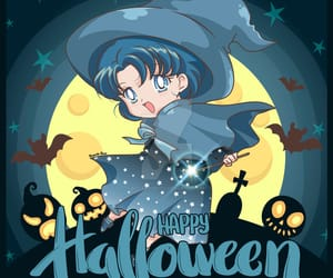 ami, Halloween, and sailor mercury image