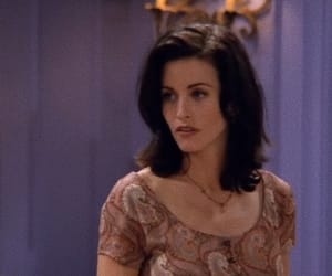friends, courtney cox, and monica image