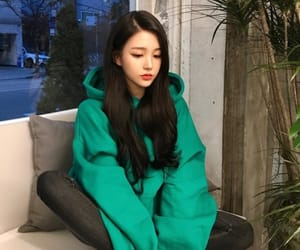 asian girl, girl, and icon image