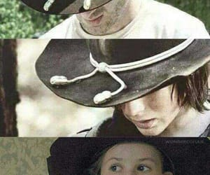 twd, rick grimes, and carl grimes image