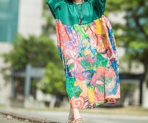 etsy, maternity dress, and floor dress image