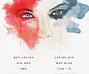 red, Taylor Swift, and Lyrics image