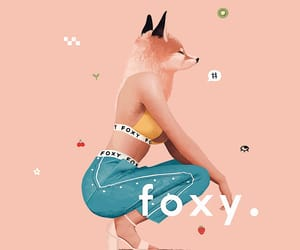 animal, art, and foxes image