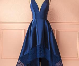 prom dress, homecoming dresses, and blue prom dress image