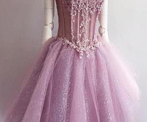 short prom dress, pink homecoming dresses, and cute homecoming dresses image