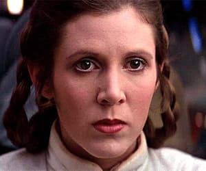 carrie fisher, Princess Leia, and classic image
