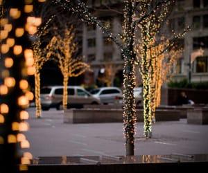 christmas, merry christmas, and trees image