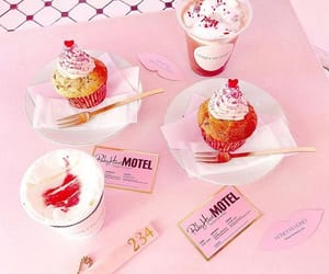 cupcakes, japanese cafe, and pink bambi image