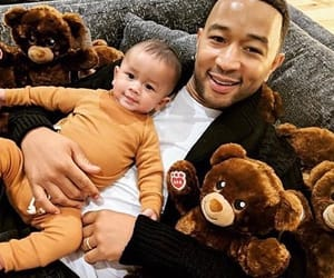 baby, john legend, and father image