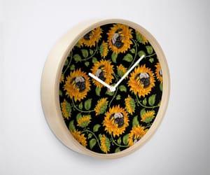 clocks, wall clock, and home decor image