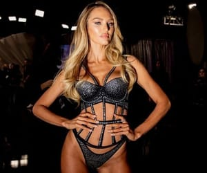model, candice swanepoel, and vs image