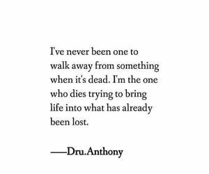 dies, lost, and walking image