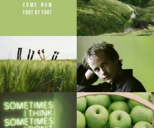 aesthetic, edit, and green image