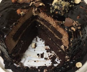 cake, cakes, and chocolate cake image