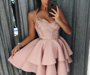 homecoming dresses, a-line homecoming dresses, and homecoming dress image
