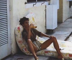 linda evangelista, model, and 90s image