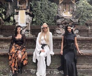 girls, kim kardashian, and sisters image