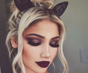 beautiful, cat ears, and hair style image
