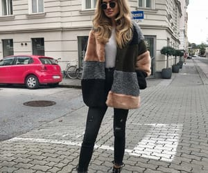 boot, fashion, and coat image